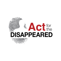 Act for the Disapeared logo