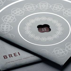 Brei Christmas Card design