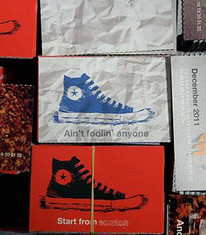 Converse Yearly Calendar Design