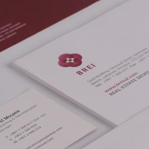 Brei Stationery Items Design