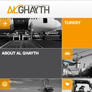Al Ghayth Website Design