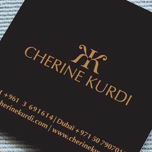Cherine Kurdi Branding