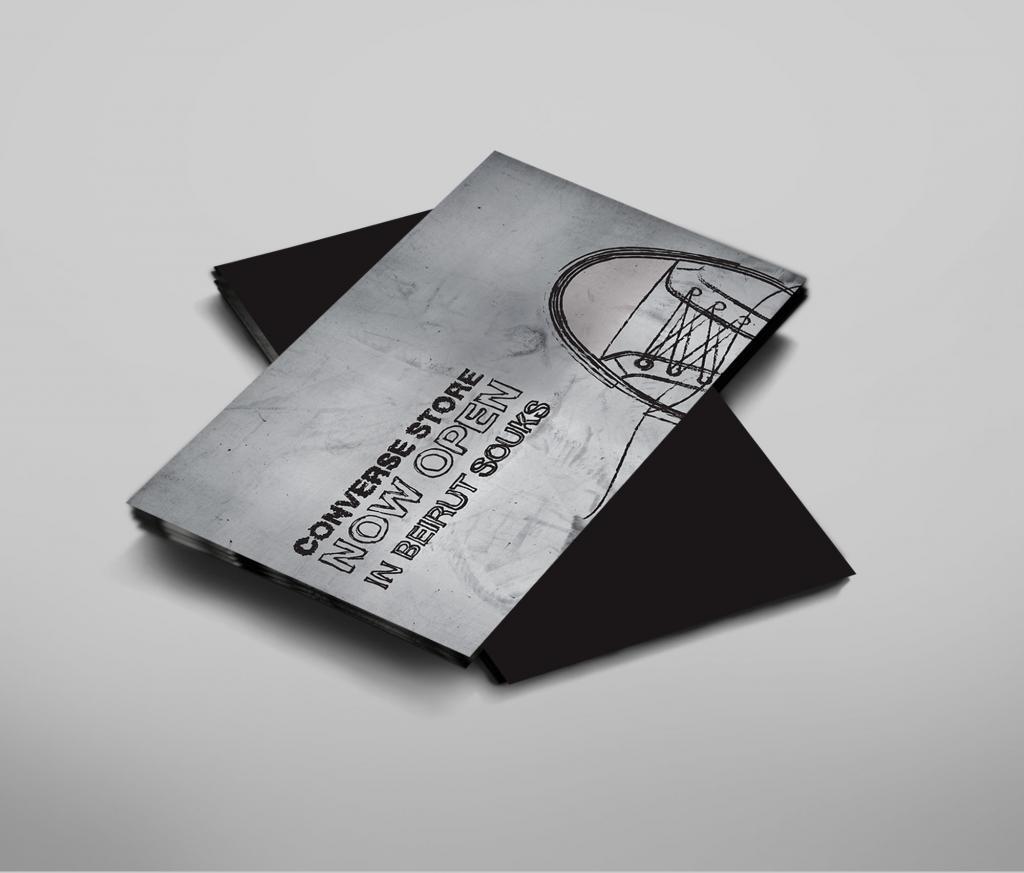 Converse Flyer Design