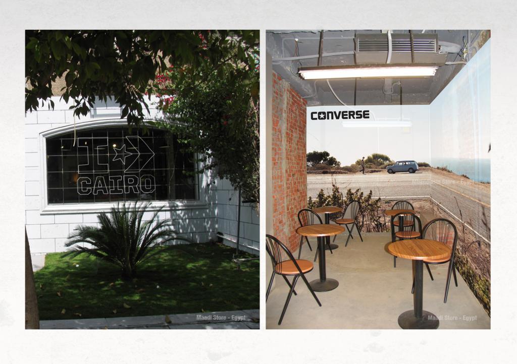 Converse Store Sitting Area Design