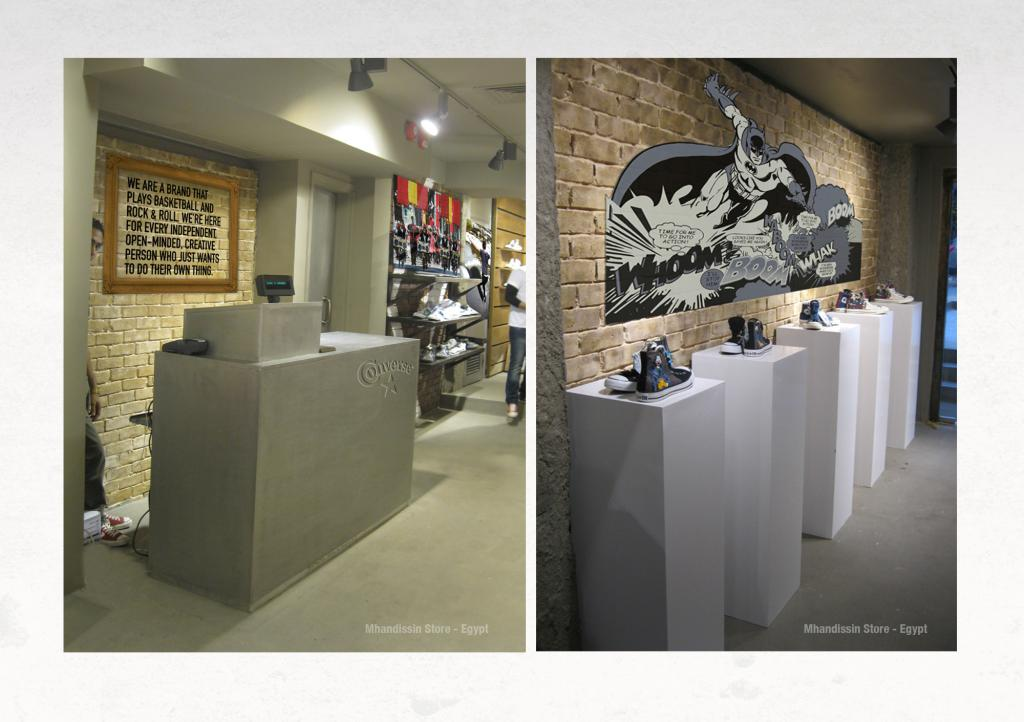 Converse Store Branding counter Design