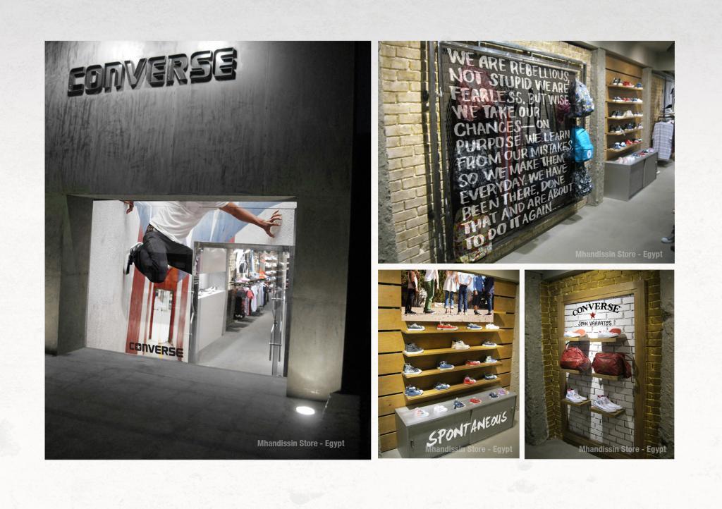 Converse Store Branding Design