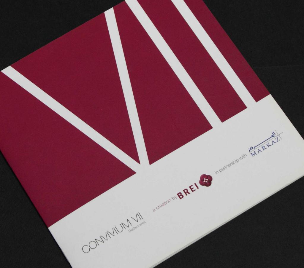 Convivium VII Sales Brochure Cover
