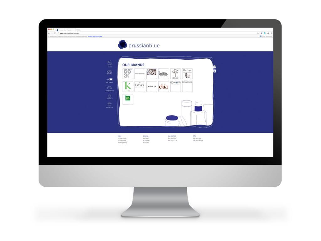 Prussian Blue Website Brands