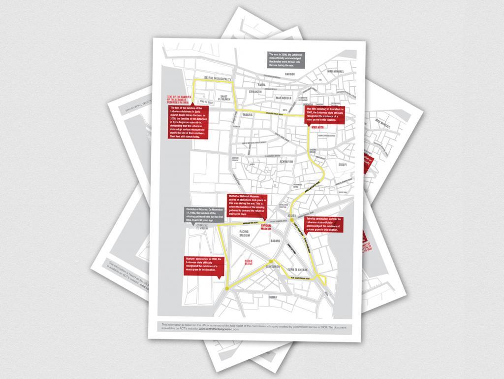 Map infographics Design