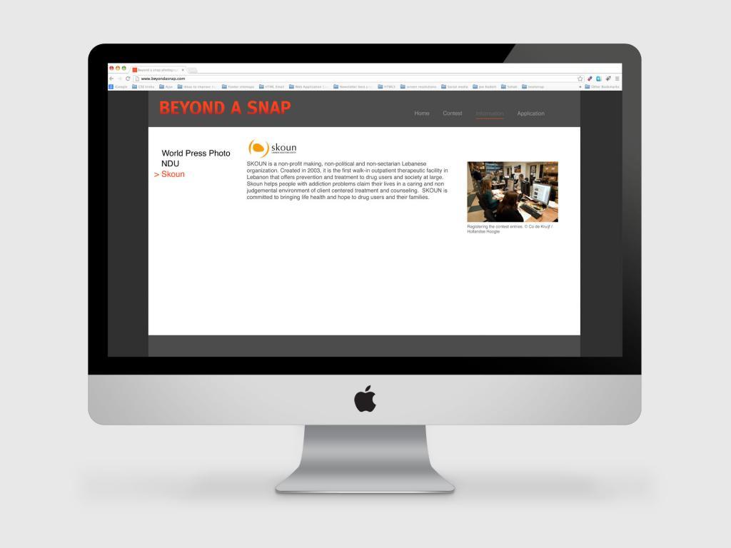 Beyond a snap Website Design