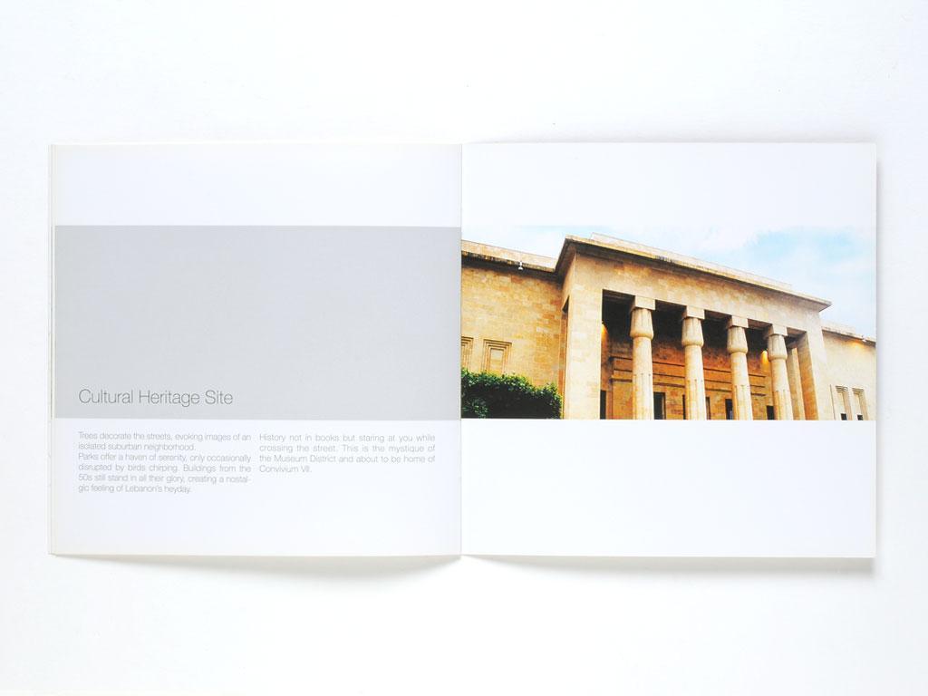 Convivium VII Sales Brochure Design