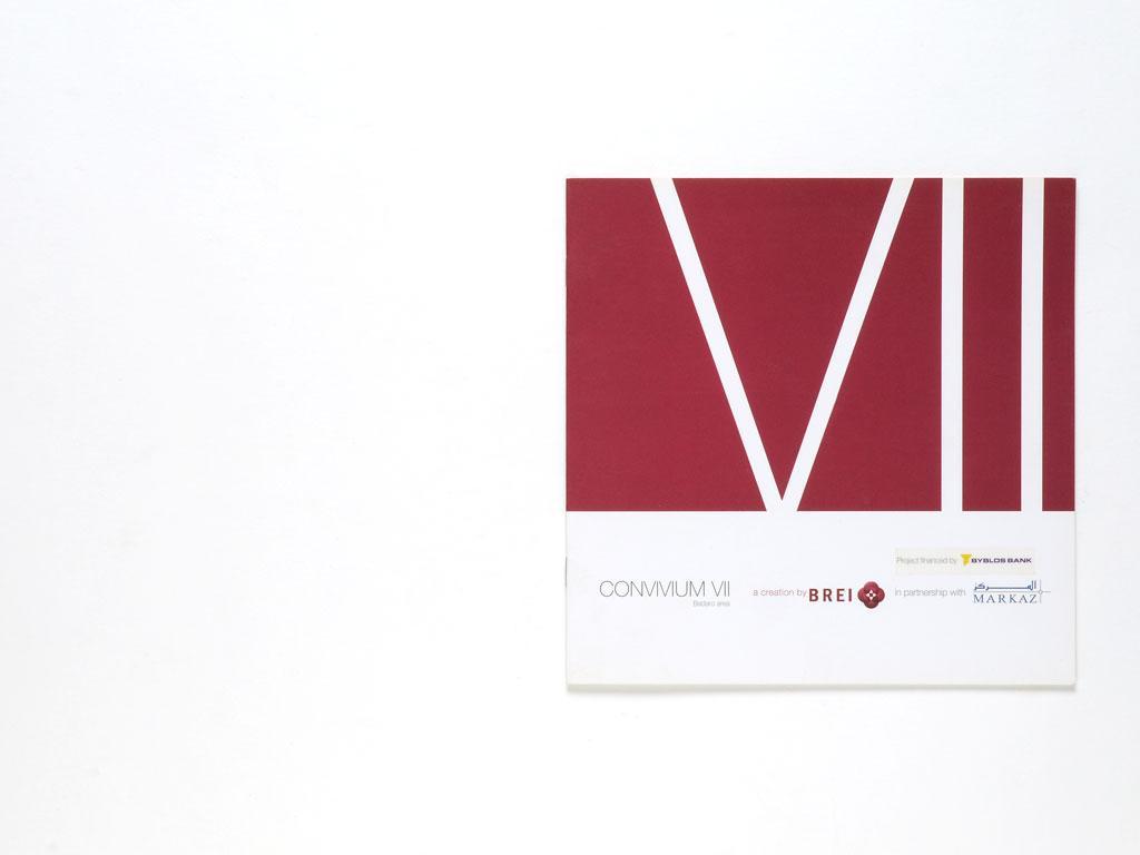 Convivium VII Sales Brochure Front cover