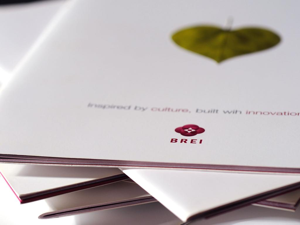 Brei Corporate Brochure Cover