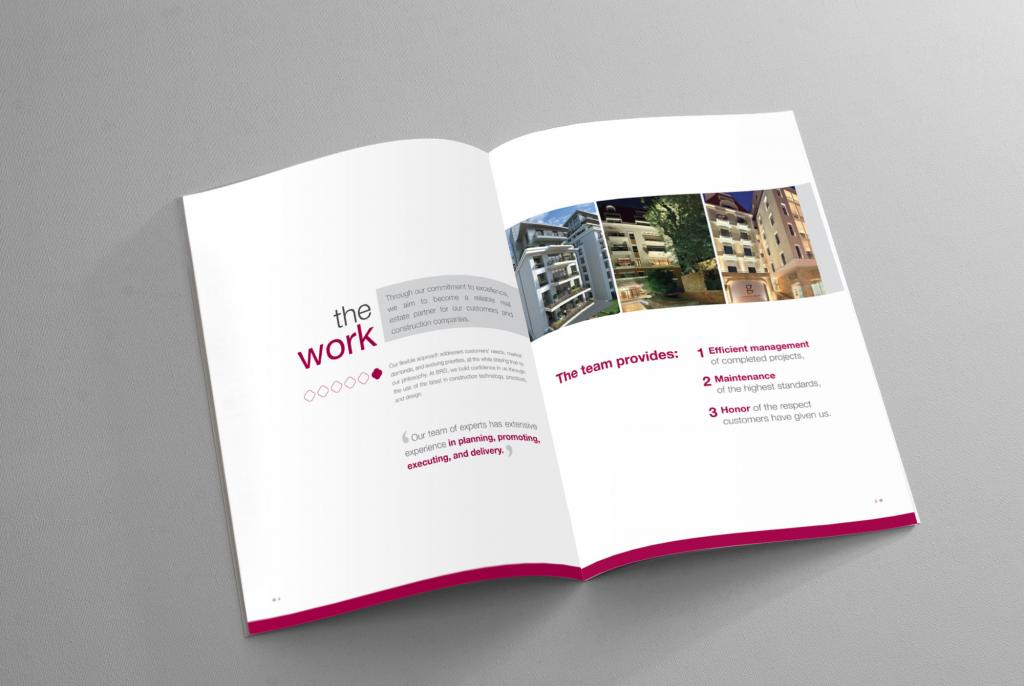 Brei corporate brochure kubik design studio for Corporate brochure design
