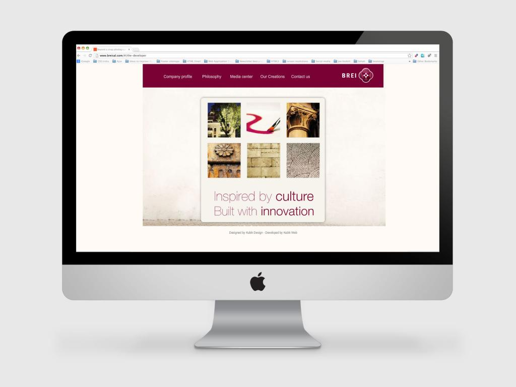 Brei Real Estate Web Design