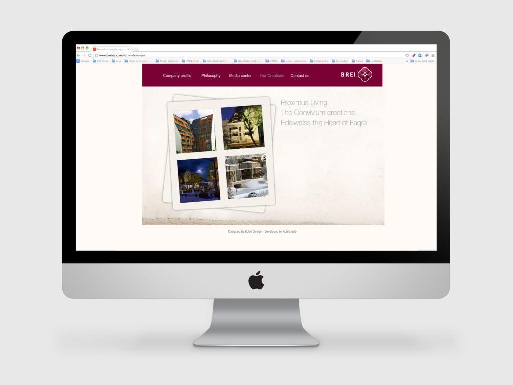 Brei Real Estate Web Design