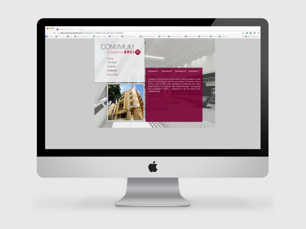 Convivium Website