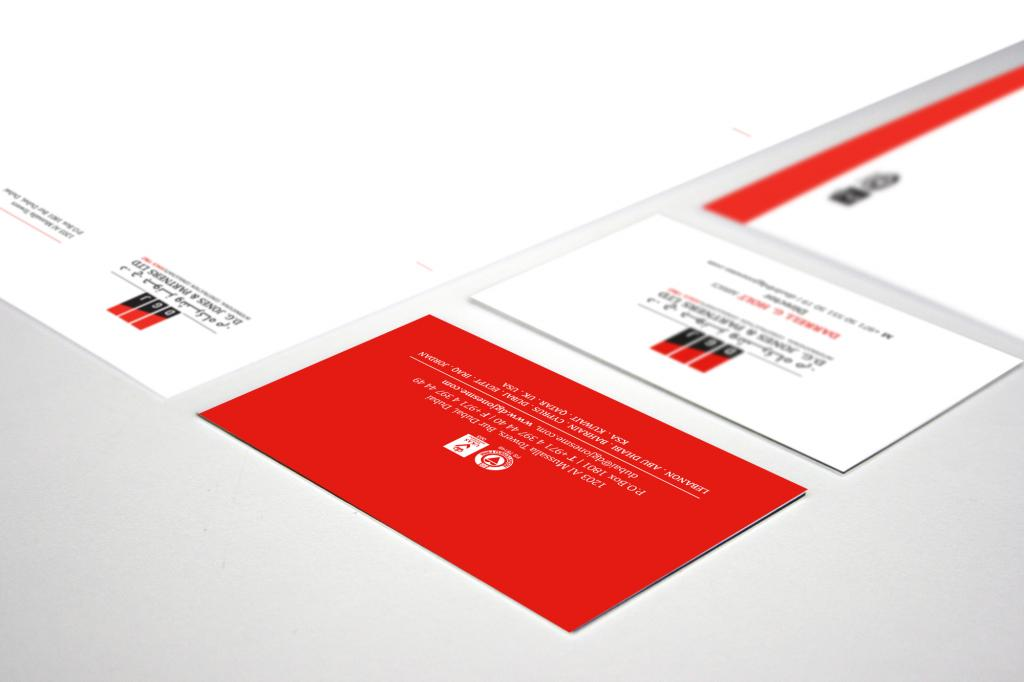 D G Jones & Partners Stationary Design