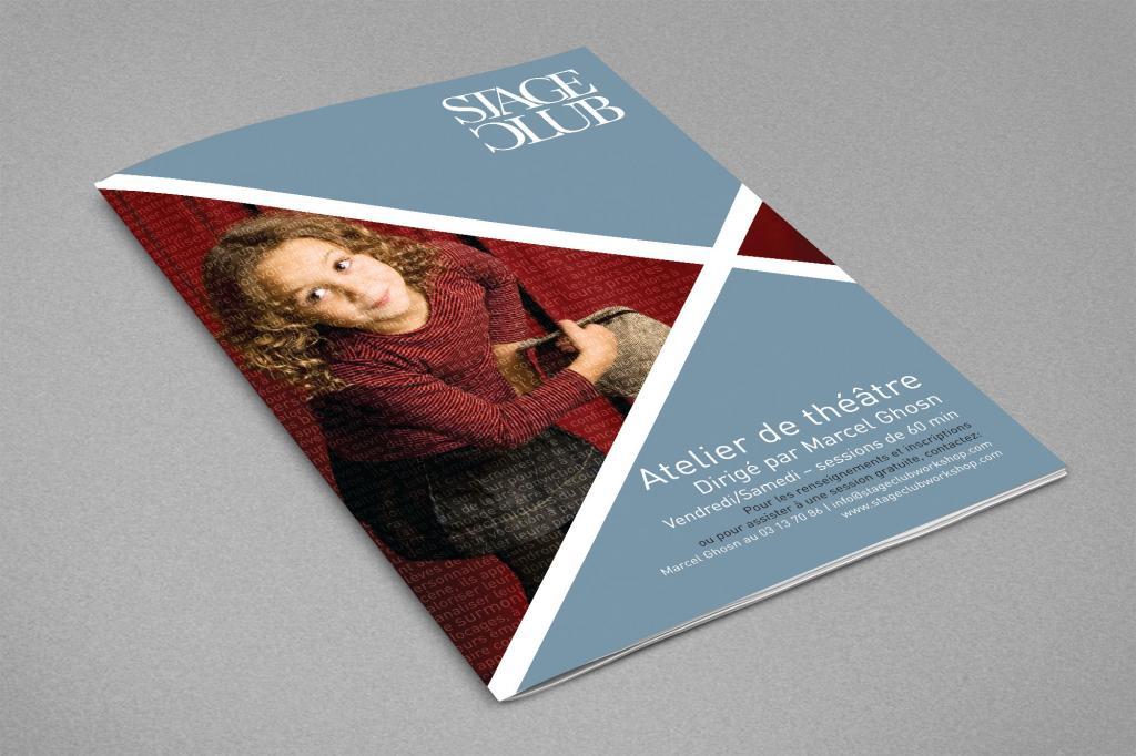 Stage Club Flyer design