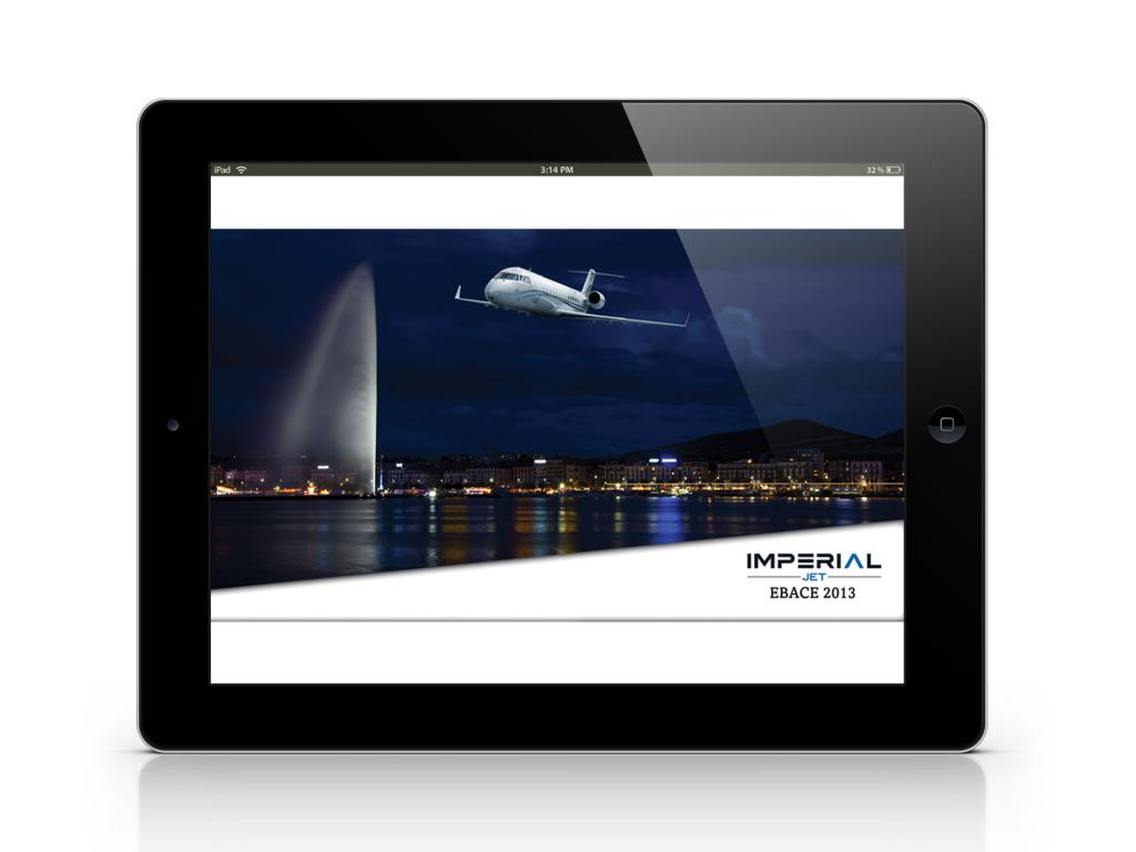 Imperial Jet EBACE 2013 E-Invitation