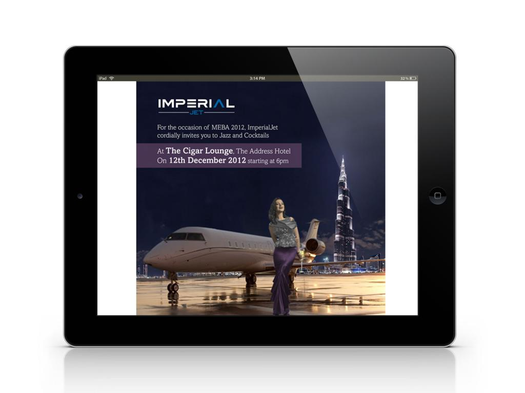 Imperial Jet MEBA 2012 E-Newsletter