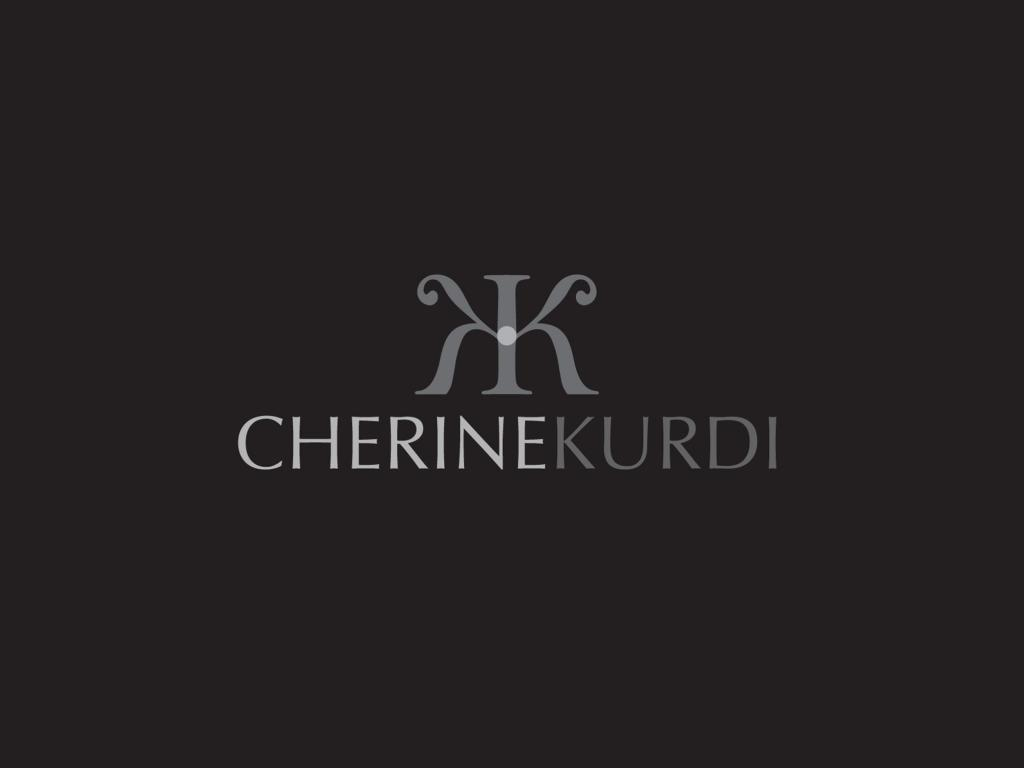 Cherine Kurdi Business Logo Design