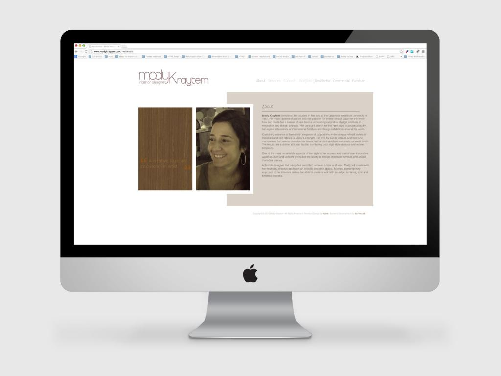 Mody Kraytem Website About us