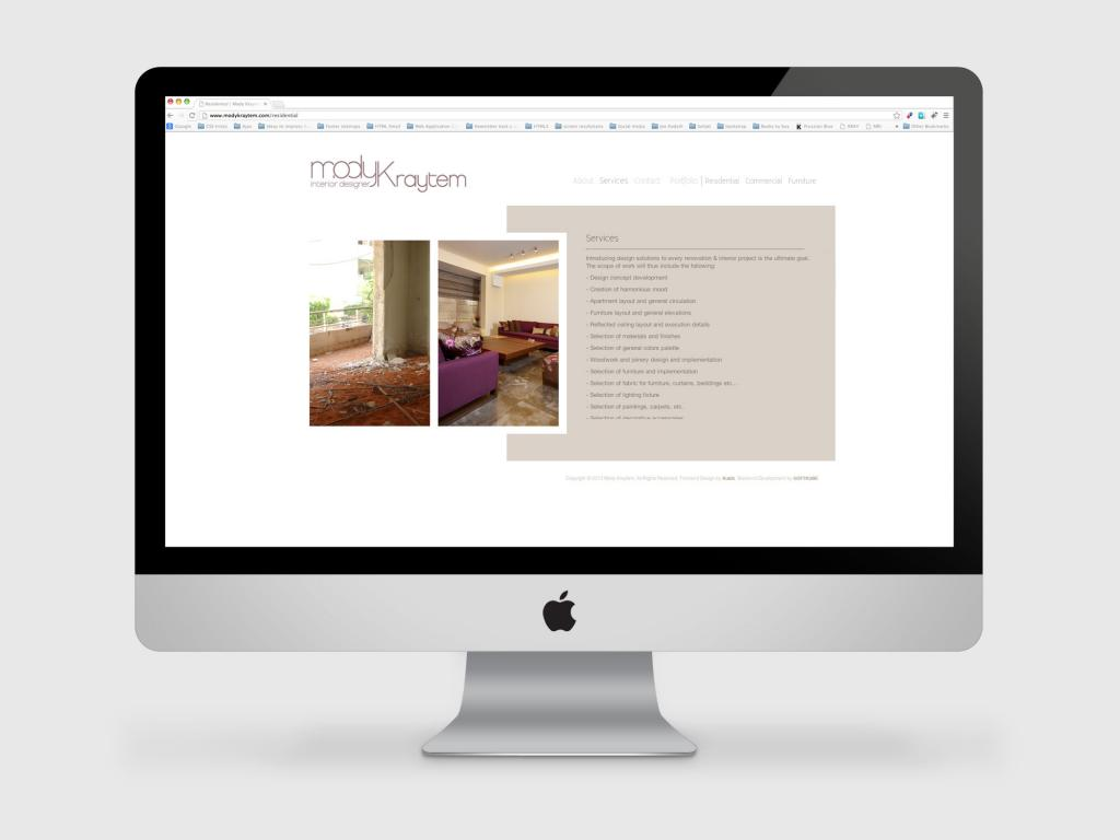 Mody Kraytem Website Services