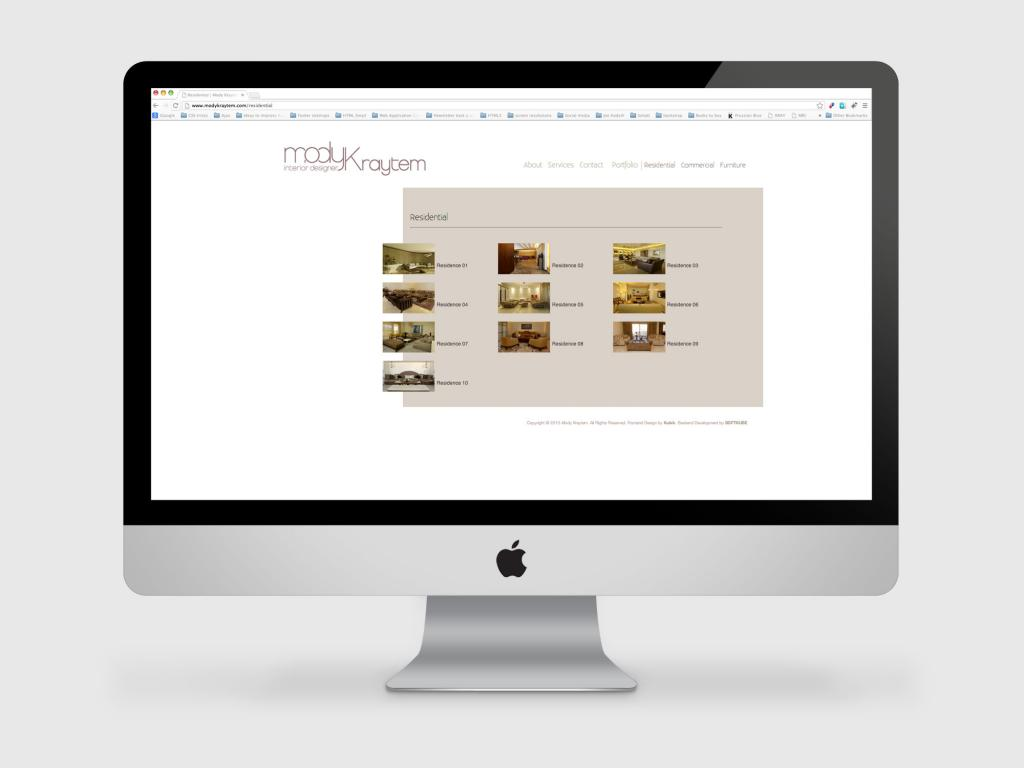 Mody Kraytem Website Residential