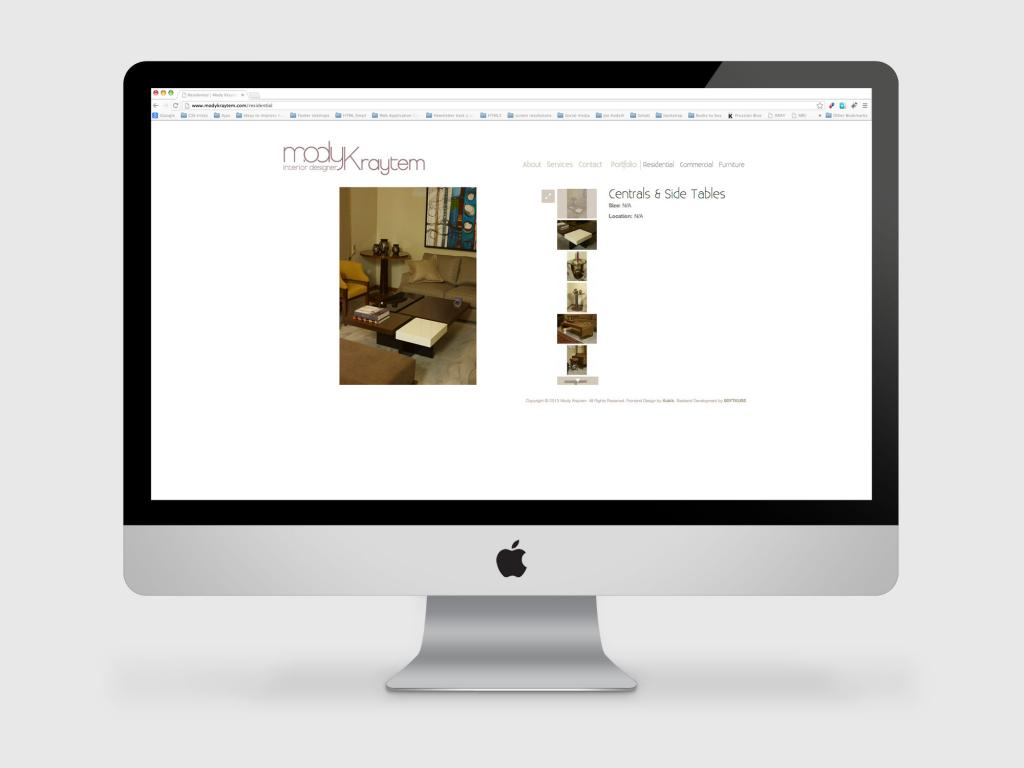 Mody Kraytem Website Furniture