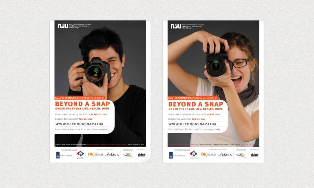 Beyond a snap Poster Design