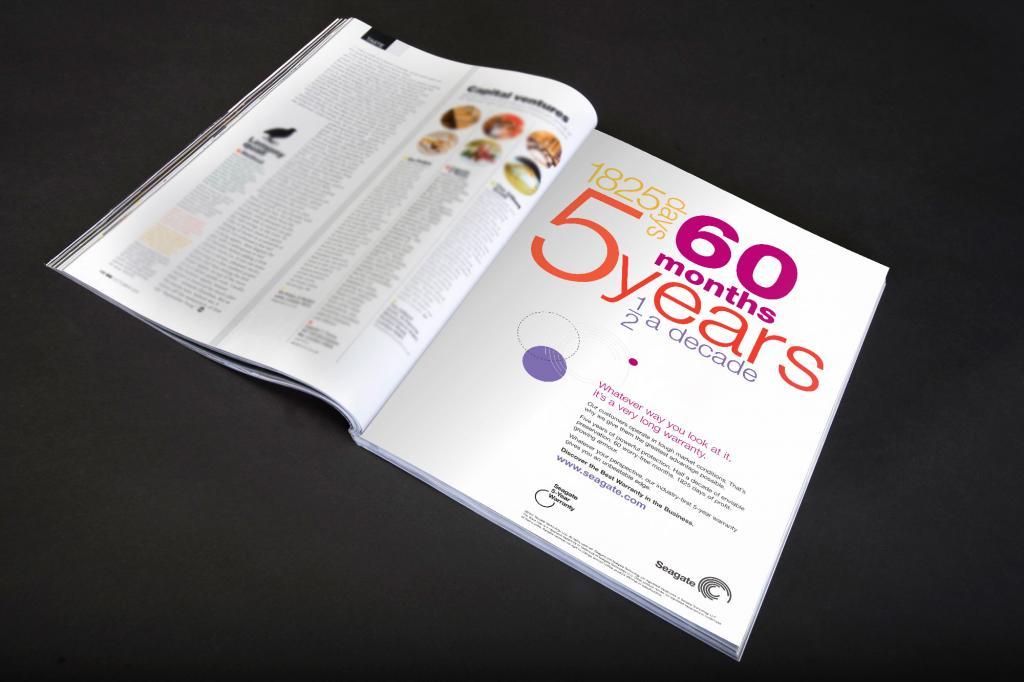 Seagate Press Ad design